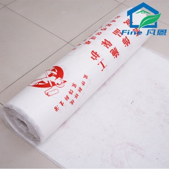 Felt Underlayment with  PE Woven Fabric