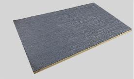 Bamboo wood fiber solid wall panel FN0880